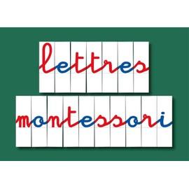 250 Lettres Mobiles Pour Alphabet Montessori