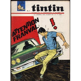 Tintin N� 872 : Le Journal Des Jeunes De 7 � 77 Ans