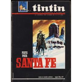 Tintin N� 883 : Piste Pour Santa Fe