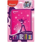 Maped Trousse D'�colier Girly, En Polyest�re, Garnie