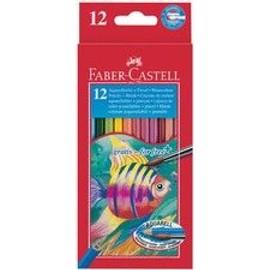 Faber-Castell Crayons De Couleur Aquarelle Pour Enfants