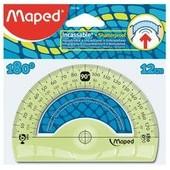 Maped Rapporteur Demi-Circulaire Flex 180 Degr�S, 120 Mm