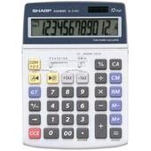Sharp Calculatrice De Bureau El-2125c Alimentation Solaire