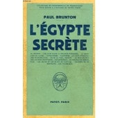 L'egypte Secrete de paul brunton