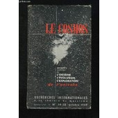 Recherches Internationales A La Lumiere Du Marxisme N� 14 - 15. Octobre 1959. Le Cosmos. Conceptions Modernes Sur L Origine L Evolution L Exploration De L Univers... de Henri V