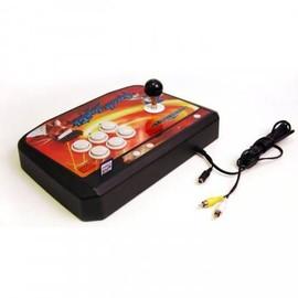 Image Console Sega Megadrive Arcade Stick Joystick + Port Carte Sd + 26 Jeux
