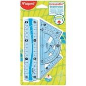 Lot De 4:Maped Mini Kit De G�om�trie Flex, Incassable, 4 Pi�ces