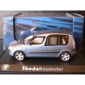 Skoda Roomster 2007 Satin Gray Metal Abrex 143ab007ce 1/43 Ludospace
