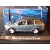Skoda Octavia 2 Combi Scout Island Green Metal 2007 Abrex 143ab011q 1/43 Sw