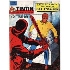 Le Journal De Tintin N� 840 : Pas D'issue Pour Ric Hochet