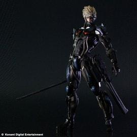 Metal Gear Rising Revengeance - Action Figure Raiden - Play Arts Kai Collection - 29 Cm
