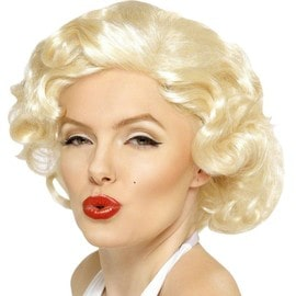 Perruque Marylin Monroe Luxe Licence