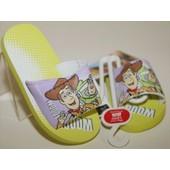 Claquette Tong Sandale Disney Toy Story Buzz Et Woody Mixte Fille Gar�on !! Pointures 26-28-30-32-Semelle Antid�rapante De 1cm ! Expedition En 24/48hrs