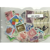 Lot De 200 Timbres Du Japon