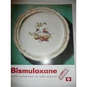 Porcelaine Bernardaud - Publicit� Pharmaceutique Pour Bismuloxane De 1965 - 404