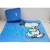 Drap De Bain Snoopy Avec Son Sac � Dos