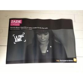 Zazie Cyclo Plv Fnac Format Papier 80 Cm * 30 Cm HYPER LIMITE