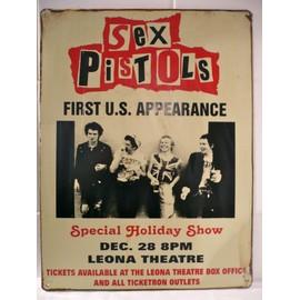 SEX PISTOLS affiche de concert