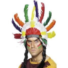 Indian Headdress, Unisex One Size