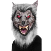 Prowler Wolf Mask, Male One Size