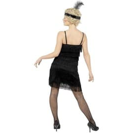 Fringe Flapper Costume, Female Uk Dress 12-14