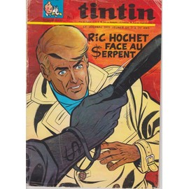 Journal De Tintin N� 983 : Ric Hochet Face Ausrpent