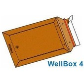 100 Enveloppes En Carton Wellbox 4 Format 250x353 Mm