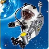 Lot Playmobil Sport : Astronaute Et Skieur
