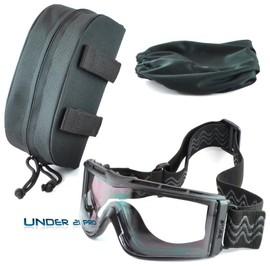 Masque Balistique X810 Boll� Tactical Kit Noir Ou Sable �cran Ballistic Incolores Forces Arm�e Intervention Airsoft Paintball Moto Port D'un Casque De Protection Safety Goggles Army Camouflage Mask