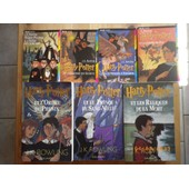 Lot De 7 Livres Harry Potter, Collection Complete, Tomes 1,2,3,4 Edition Folio, Tomes 5,6,7 Edition Gallimard