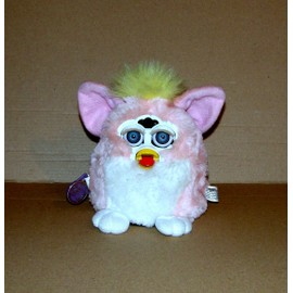 Furby Rose Blanc 1ere Generation Peluche Parlante Eng Tiger