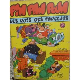 Pim Pam Poum Les Rois Des Farceurs Mensuel N�38 Du 20 Juin1960 37 38