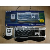 PC Gaming Keyboard And Command Pad