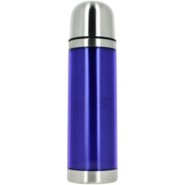 Bouteille Isolante Isotherme Inox Design City Fluo 500ml Bleu