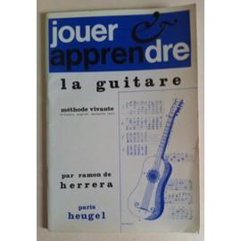 Jouer et apprendre la guitare