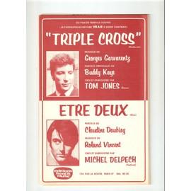 TRIPLE CROSS:/ TOME JONES et ETRE DEUX / MICHEL DELPECH