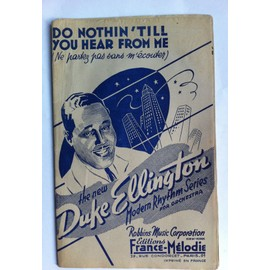 DUKE ELLINGTON DO NOTHIN TILL YOU HEAR FROM ME