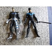 2 Figurines De Batman Et Robin