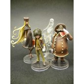 Lot De 4 Figurine Medicos Train Galaxy Express 999 Maetel Claire Etc...