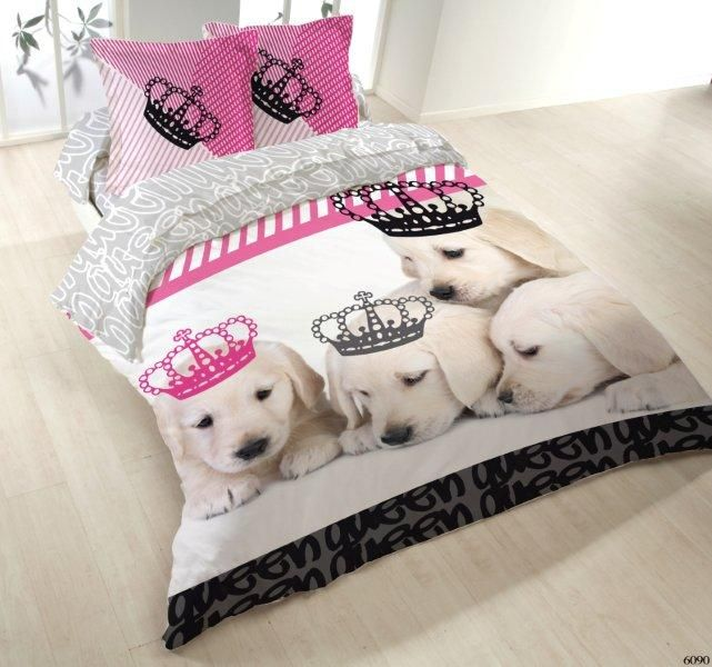 Housse De Couette 200x200 2 Taies Dogs Kingdom