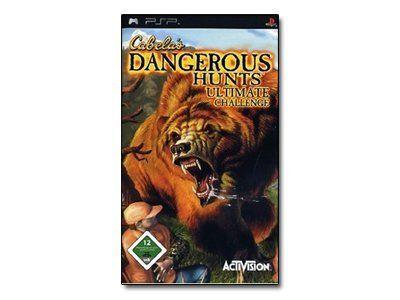 Promotion -14 % Cabela's Dangerous Hunts Ultimate Challenge - Ensemble Complet - Playstation Portable (ancien prix : 49.0€)