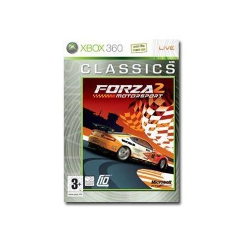 Forza motorsport 2 classics ensemble complet xbox 360 dvd anglais