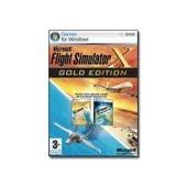 Microsoft Flight Simulator X Gold Edition - Ensemble Complet - Pc - Dvd ( Bo�tier De Dvd ) - Win - Anglais