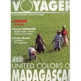 Voyager Magazine N°7 - Decembre-Janvier 1991 / Prague Ressuscitee - Dossier Reveillon, Classique, Insolite, Lointain... De Tout Pour Tous Les Gouts - Annee Mozart : Le Calendrier Des ..., occasion