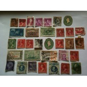 Lot De 33 Timbres Divers Etats-Unis
