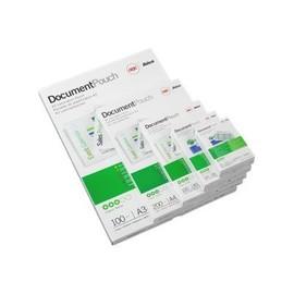 Gbc Card Pouch - 125 Microns Pack De 100 - Brillant - 60 X 90 Mm Pochettes Plastifi�es