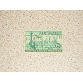 Timbre Air Mail 15c , United States Postage