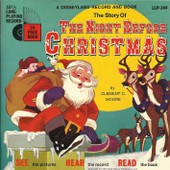 A Disneyland Record And Book : The Story Of The Night Before Christmas (Livre Disque) (17cm) - Lois Lane (Disneyland Story Reader)