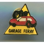 Pins Renault Clio Garage Feray