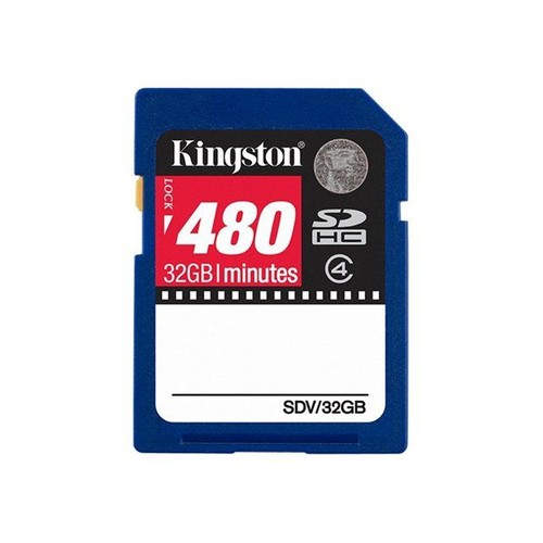 Carte video SDHC 32Go Class 4 480 min